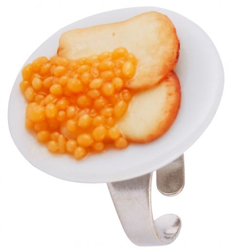 Beans on Toast Ring from Punky Allsorts £16.50