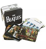 Beatles Collectors Set Of 13 Coasters In A Tin