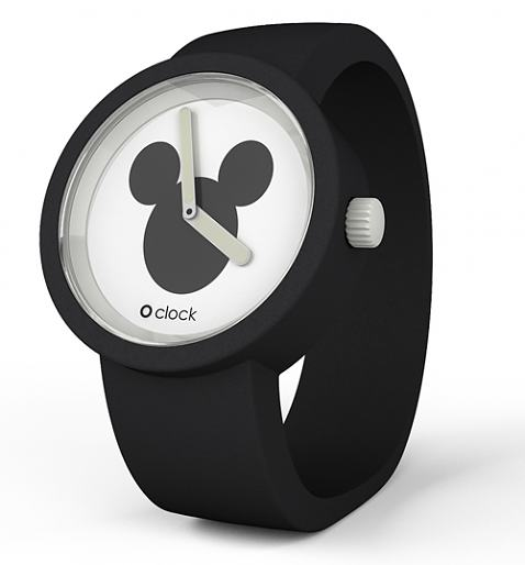 Black Mickey Mouse Icon Disney Watch from O Clock - £34.99