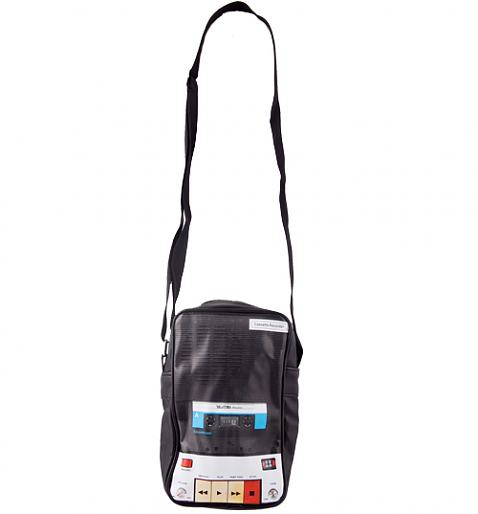 Retro Tape Recorder Shoulder Bag : TruffleShuffle.com
