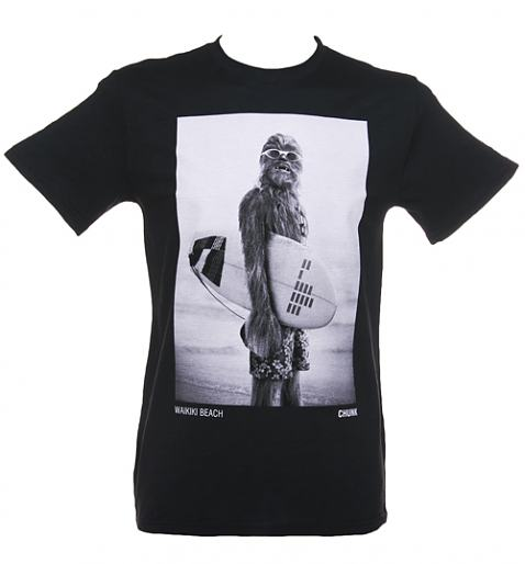 Men's Charcoal Star Wars Wookie Surfer T-Shirt from Chunk £27.99
