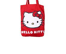 Classic Hello Kitty Red Canvas Tote Bag