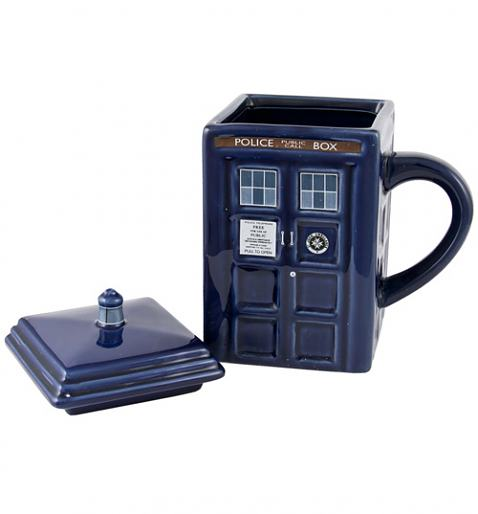 Dr Who Tardis Mug With Lid £12.99