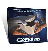 Gremlins Movie Poster 30x30 Canvas Art Print