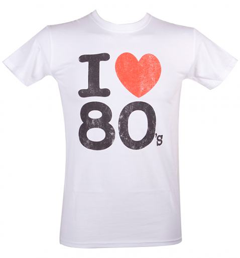 Men's I Heart The 80's T-Shirt from Fame and Fortune £20.00