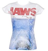 Ladies Jaws Teeth T-Shirt from American Classics