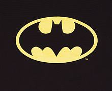 Kids Classic Batman Logo T-Shirt from Urban Species