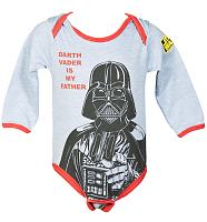 Kids Darth Vader Is My Father Babygrow from Fabric Flavours