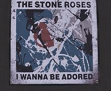 Kids Stone Roses Wanna Be Adored Charcoal T-Shirt from Amplified Kids