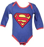Kids Superman Babygrow from Fabric Flavours