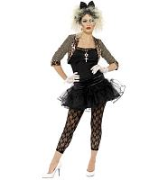 Ladies 80's Wild Child Madonna Style Fancy Dress Costume