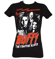 Ladies Buffy The Vampire Slayer Demons T-Shirt