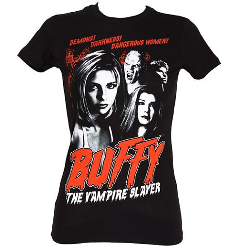 Ladies Buffy The Vampire Slayer Demons T-Shirt £22.99