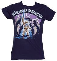 Ladies By The Power Of Grayskull He-Man T-Shirt