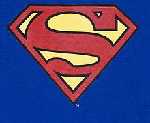 Ladies Classic Superman Logo T-Shirt from Urban Species
