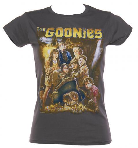 Ladies Goonies Movie Poster T-Shirt from TruffleShuffle £22.99