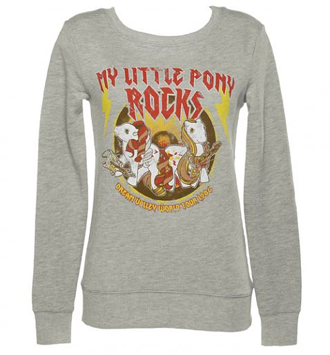 Ladies Grey My Little Pony Rocks Sweater from TruffleShuffle £29.99