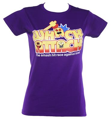 The coolest range of 80s, vintage and retro Whack Attack T-Shirts and Clothing you can buy online & wear tomorrow