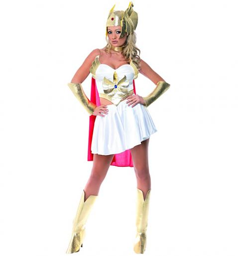 Ladies She-Ra Fancy Dress Costume £30.00