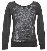 Ladies Jane Austen Pride And Prejudice Lightweight Sweater from Out Of Print