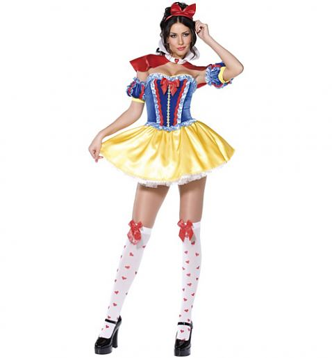 Ladies Snow White Fancy Dress Costume £34.99