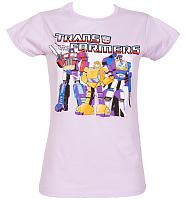Ladies Transformers Group T-Shirt
