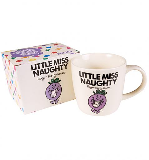 Little Miss Naughty Mug £6.95