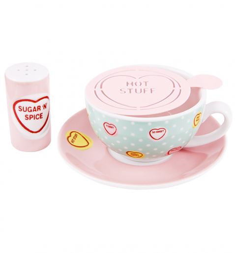 Love Hearts Cappuccino Set £14.99