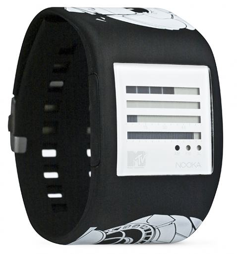 MTV Headphones Zub Zenh Watch from Nooka £125.00