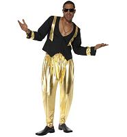Men's 90's Rapper Hammer Time Fancy Dress Costume