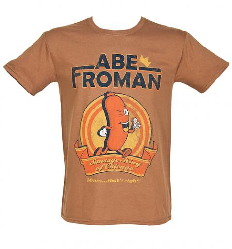 Mens Abe Froman Sausage King T Shirt