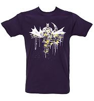 Men's Batman Graffiti Dark Knight T-Shirt from Urban Species