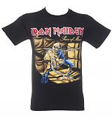 Men's Black Iron Maiden Piece Of Mind T-Shirt