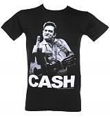 Men's Johnny Cash Cash Finger T-Shirt