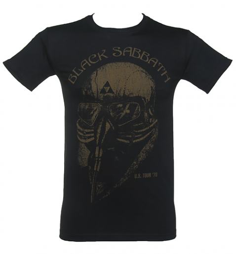 Men's Black Sabbath Tour T-Shirt £19.99