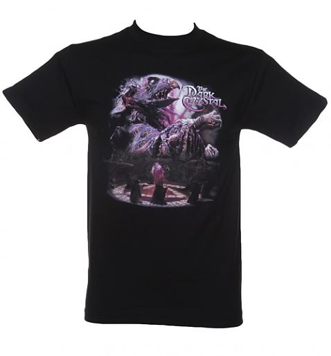 Men's Black The Dark Crystal Skeksis T-Shirt £25.99