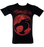Men's Black Thundercats Logo T-Shirt from Sticks and Stones