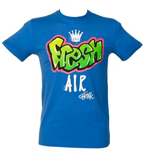 Men's Blue Fresh Air T-Shirt from Chunk - £27.99