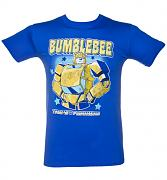 Men's Blue Bumblebee Transformers T-Shirt