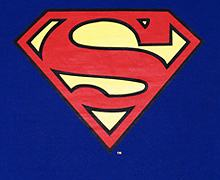 Men's Classic Superman Logo T-Shirt from Urban Species