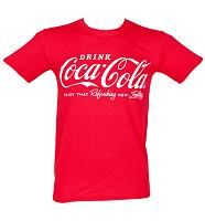 Men's Coca Cola Logo T-Shirt