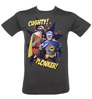 Men's Del Boy and Rodney Only Fools And Horses Superheroes T-Shirt