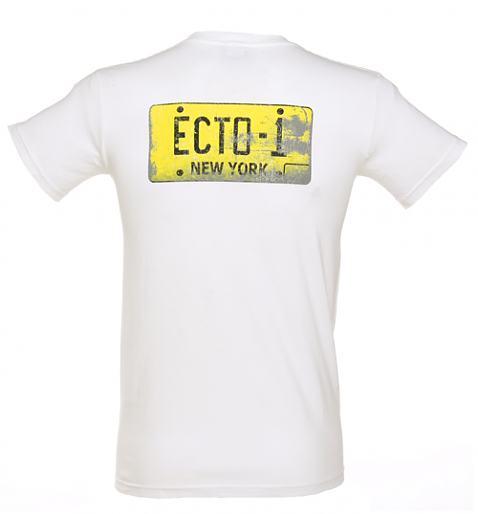 پشت تی شرت با طرح خودروی نیویورکی