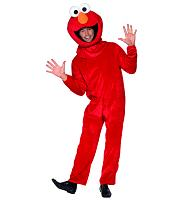 Men's Elmo Sesame Street Fancy Dress Costume