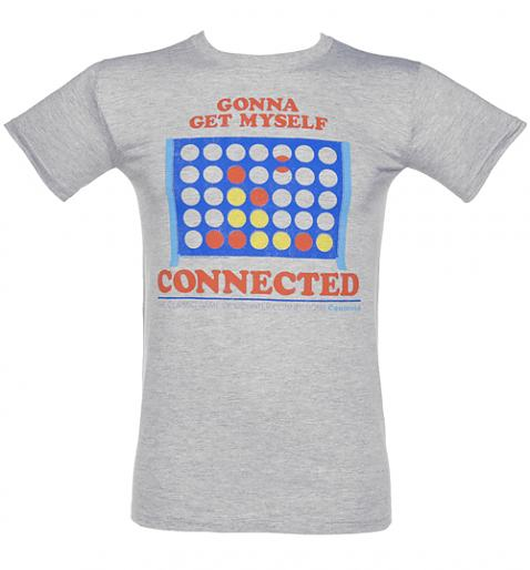Men's Gonna Get Myself Connected Connect 4 T-Shirt from TruffleShuffle