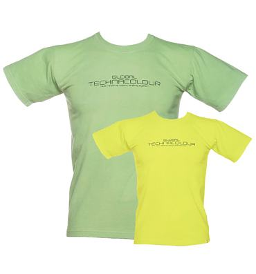 Green Global Hypercolor T Shirt