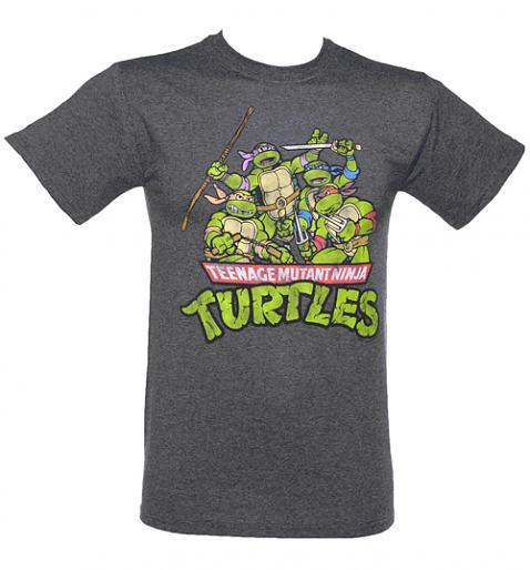 تی شرت با طرح انیمیشن تلویزیونی لاکپشت های نینجا