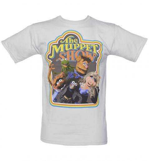 Men's Grey The Muppets Show T-Shirt £27.99