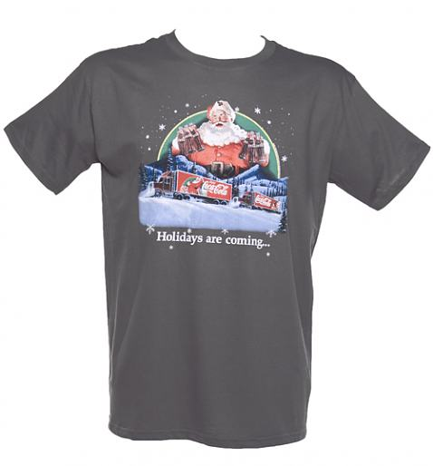 Men's Holidays Are Coming Coca Cola Truck T-Shirt from TruffleShuffle £20.00