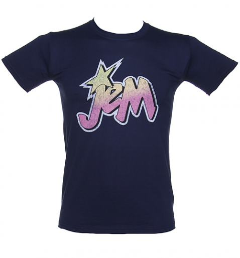 Men's Jem and The Holograms Logo T-Shirt from TruffleShuffle £20.00